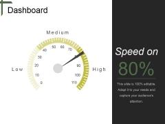 Dashboard Ppt PowerPoint Presentation Outline