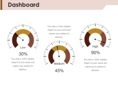 Dashboard Ppt Powerpoint Presentation Portfolio Templates