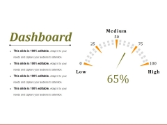 Dashboard Ppt PowerPoint Presentation Professional Outline
