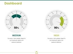 Dashboard Ppt PowerPoint Presentation Show Portrait