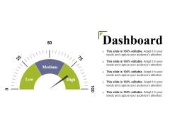 Dashboard Ppt PowerPoint Presentation Summary Outline