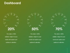 Dashboard Ppt Powerpoint Presentation Summary Professional