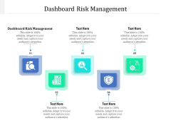Dashboard Risk Management Ppt PowerPoint Presentation Infographics Guide Cpb Pdf