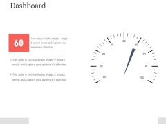 Dashboard Template 1 Ppt PowerPoint Presentation Outline