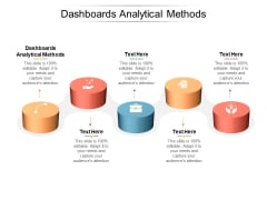 Dashboards Analytical Methods Ppt PowerPoint Presentation Summary Icon Cpb Pdf