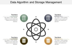 Data Algorithm And Storage Management Ppt PowerPoint Presentation Icon Background Images