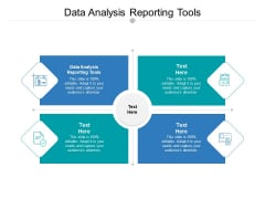 Data Analysis Reporting Tools Ppt PowerPoint Presentation Professional Layout Cpb Pdf
