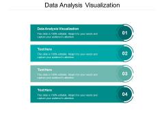 Data Analysis Visualization Ppt PowerPoint Presentation Portfolio Graphic Images Cpb