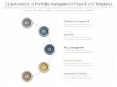 Data Analytics In Portfolio Management Powerpoint Templates