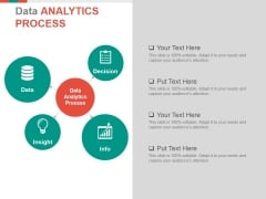 Data Analytics Process Ppt PowerPoint Presentation Gallery Show