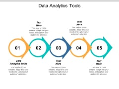 Data Analytics Tools Ppt PowerPoint Presentation Professional Structure Cpb