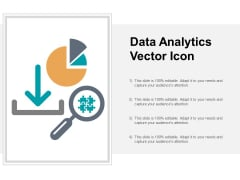 Data Analytics Vector Icon Ppt PowerPoint Presentation Professional