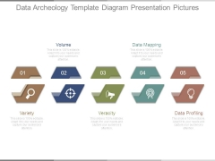 Data Archeology Template Diagram Presentation Pictures