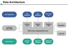 Data Architecture Ppt PowerPoint Presentation Professional Skills