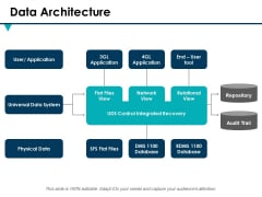 Data Architecture Ppt PowerPoint Presentation Styles Information