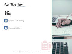 Data Assimilation Your Title Here Foundational Ppt Gallery Microsoft PDF
