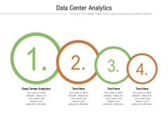 Data Center Analytics Ppt PowerPoint Presentation Gallery Slides Cpb Pdf