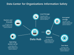 Data Center For Organizations Information Safety Ppt PowerPoint Presentation Infographics Deck PDF