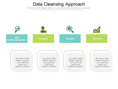 Data Cleansing Approach Ppt PowerPoint Presentation Ideas Elements Cpb Pdf