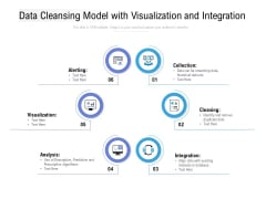 Data Cleansing Model With Visualization And Integration Ppt Slides Guidelines PDF