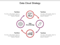 Data Cloud Strategy Ppt PowerPoint Presentation Portfolio Influencers Cpb Pdf