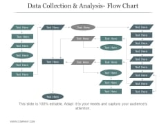 Data Collection And Analysis Flow Chart Ppt PowerPoint Presentation Sample