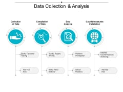 Data Collection And Analysis Ppt Powerpoint Presentation Icon Example Topics
