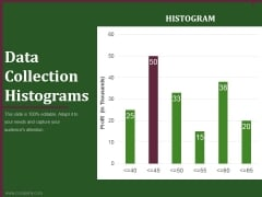 data collection histograms ppt powerpoint presentation example