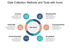 Data Collection Methods And Tools With Icons Ppt PowerPoint Presentation Pictures Structure