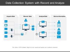 Data Collection System With Record And Analyze Ppt PowerPoint Presentation Gallery Graphics Tutorials PDF