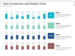 Data Comparison And Analysis Chart Ppt Powerpoint Presentation File Background Images