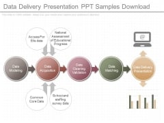 Data Delivery Presentation Ppt Samples Download
