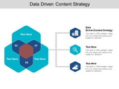Data Driven Content Strategy Ppt PowerPoint Presentation Outline Introduction Cpb