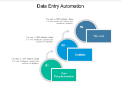 Data Entry Automation Ppt PowerPoint Presentation File Clipart Images Cpb