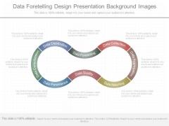 Data Foretelling Design Presentation Background Images