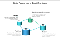 Data Governance Best Practices Ppt PowerPoint Presentation Outline Deck Cpb