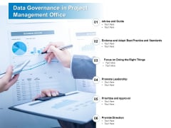 Data Governance In Project Management Office Ppt PowerPoint Presentation Inspiration Files