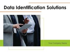 Data Identification Solutions Analysis Market Ppt PowerPoint Presentation Complete Deck