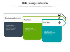 Data Leakage Detection Ppt PowerPoint Presentation File Files Cpb Pdf