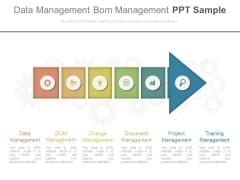 Data Management Bom Management Ppt Sample