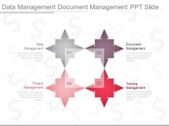Data Management Document Management Ppt Slide