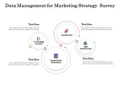 Data Management For Marketing Strategy Survey Ppt PowerPoint Presentation Model Format Ideas