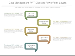 Data Management Ppt Diagram Powerpoint Layout