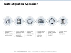 Data Migration Approach Ppt PowerPoint Presentation Diagram Graph Charts