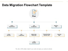 Data Migration Flowchart Template Ppt PowerPoint Presentation Summary Structure