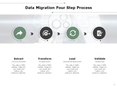 Data Migration Four Step Process Ppt PowerPoint Presentation Show Pictures