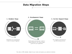 Data Migration Steps Ppt PowerPoint Presentation Professional Designs Download