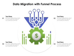 Data Migration With Funnel Process Ppt PowerPoint Presentation Styles Outfit PDF