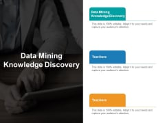 Data Mining Knowledge Discovery Ppt PowerPoint Presentation Icon Format Cpb