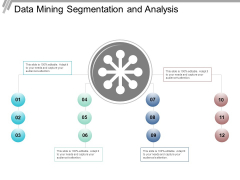 Data Mining Segmentation And Analysis Ppt PowerPoint Presentation Slides